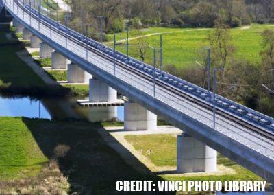 LGV SEA TOURS-BORDEAUX CHARENTE MEDIANE VIADUCT – FRANCE